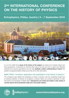 2016: 2nd International Conference on the History of Physics